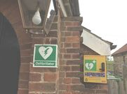 Village Hall Defibrillator Location